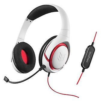 Creative Auriculares + Mic Gaming Sound Blaster Inferno Blanco