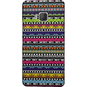 Tribal colors cover for HTC M9