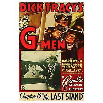 Dick Tracys G-Men Movie Poster Print (27 x 40)