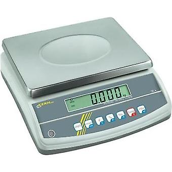 Table top scales Kern GAB 30K0.2N Weight range 30 kg Readability 0.2 g mains-powered, rechargeable Silver