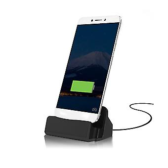 ONX3 (Black) Huawei P10 Desktop Charger USB TYPE C Base Stand Data Sync Charging Docking Station