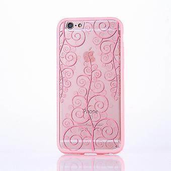 Mobile mandala case pour Apple iPhone 6 s plus fleur de motif design housse cover affaire pare-chocs Rosa