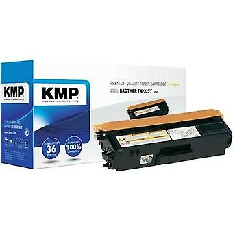 KMP Toner cartridge replaced Brother TN-325Y Compatible Yellow 3500 pages B-T41