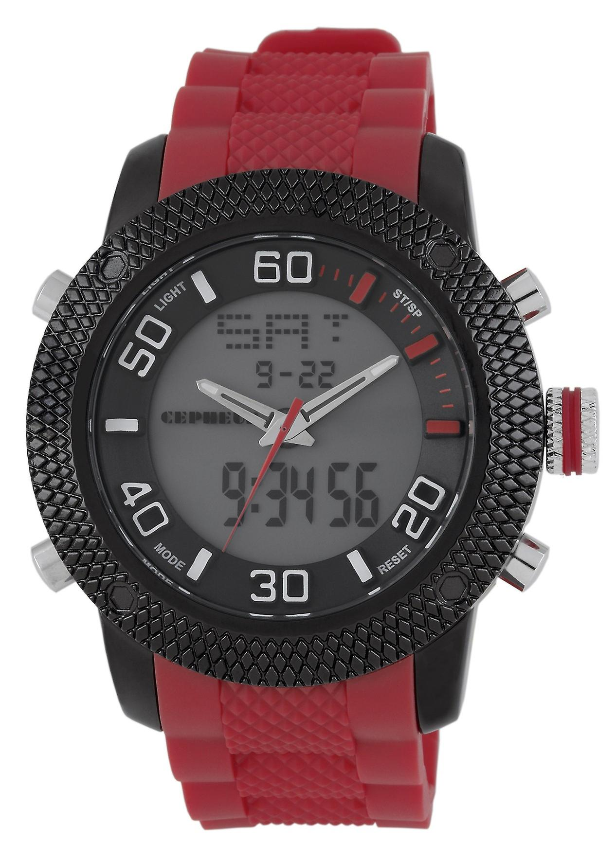 CEPHEUS gents watch analogue-digital CP903-624