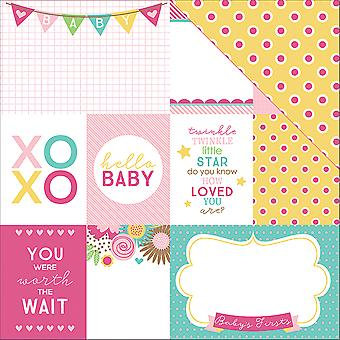 Hello Baby Double-Sided Cardstock 12