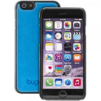 Bugatti ClipOnCover cover leather iPhone case Modena 6s 6 cobalt