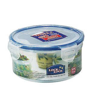 Lock & Lock 600ml Small Round Storage Container