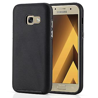 Samsung Galaxy A3 (2017) PC TPU Textured Case Black