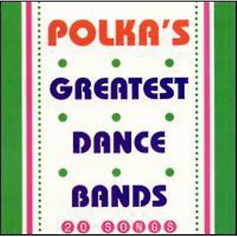Polkas største Dance Bands - polkas største Dance Bands [CD] USA importerer