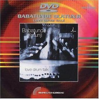 Babatunde Olatunji - kærlighed Drum tale [DVD] USA import