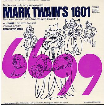 Richard Dyer-Bennet - Mark Twain 1601 [CD] USA import