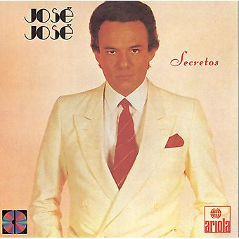 Jose Jose - Secretos [CD] USA import