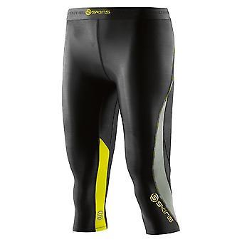 Señoras pieles mallas para correr pantalones DNAmic Capri negro - DA99060089240