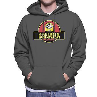 Hantlangare Jurassic Park banan Mäns Hooded Sweatshirt
