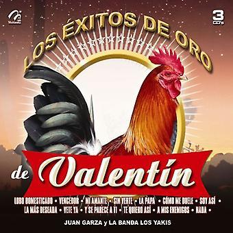 Garza, Juan Y La Banda Los Yakis - Garza, Juan Y La Banda Los Yakis: Vol. 1-Los Exitos De Oro De Valentin Elizalde [CD] USA importerer