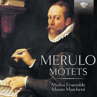 Merulo / Modus Ensemble / Marchetti, Mauro - Merulo: Motets [CD] USA import