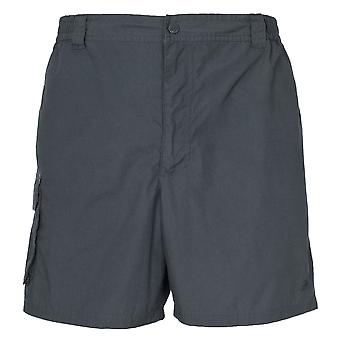 Trespass Roadside Mens Elasticated Cargo Shorts