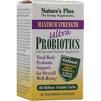 Natures Plus Ultra Probiotics , 30 Veg caps