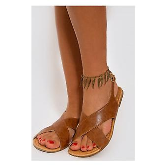 The Fashion Bible Gold Wings Anklet Chain