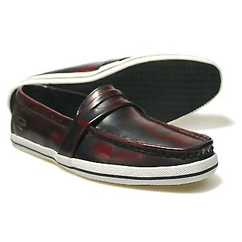 Penguin Rufus Burgundy Low-Top Casual Loafers