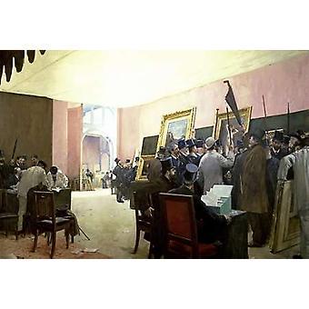Spotkanie z malarstwa Jury Poster Print przez Henri Gervex