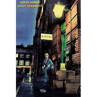 David Bowie - Ziggy Stardust Poster Poster Print