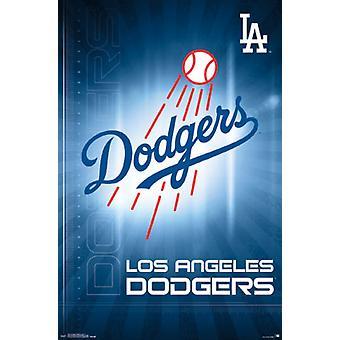 Los Angeles Dodgers - Logo 16 Poster Poster Print