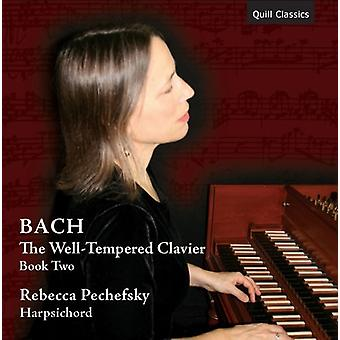 J.S. Bach - Well-Tempered Clavier bog to [CD] USA import