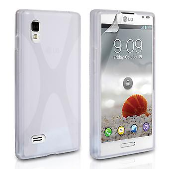 Yousave Accessories LG Optimus L9 X-Line Gel Case - Clear