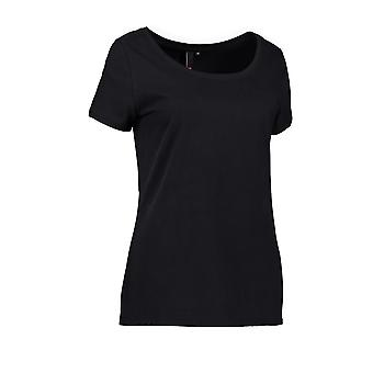 ID Womens/Ladies Round Neck Casual T-Shirt