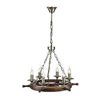 Maytoni Lighting Frigate Elegant Collection Pendant, Bronze