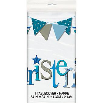 Unique Party Bunting Christening Tablecover