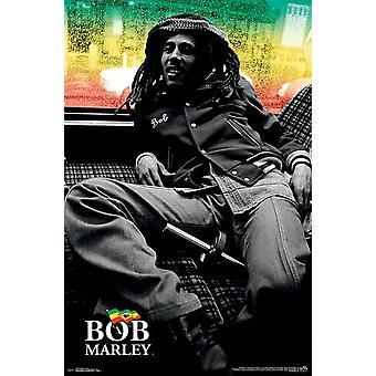 Bob Marley - Lounge Poster Print