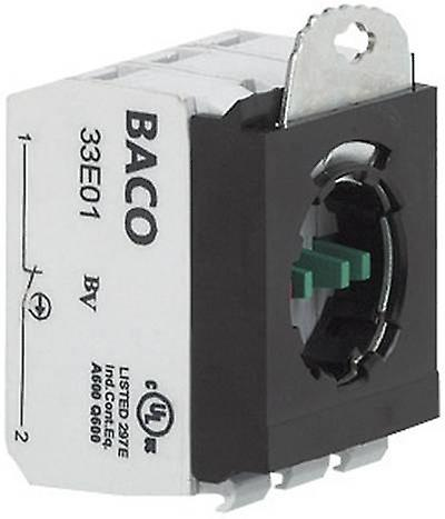 Contact + fixing adapter 2 breakers momentary 600