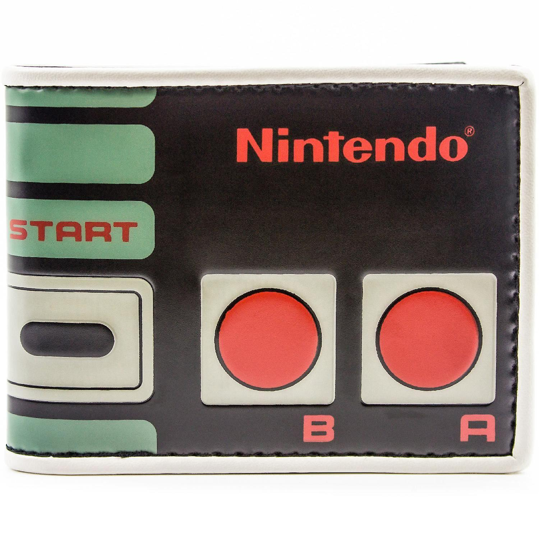 任天堂ファミコン コント ローラー レトロな ID ・ カードの二つ折り財布