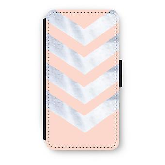 iPod Touch 6 Flip Case - Marble arrows