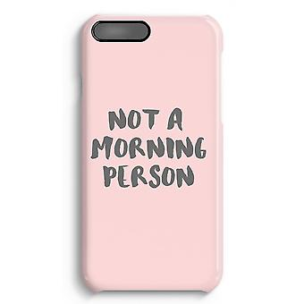 iPhone 8 Plus Full Print Case - Morning person