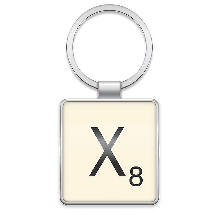 Scrabble Keyring - Letter X by Wild & Wolf