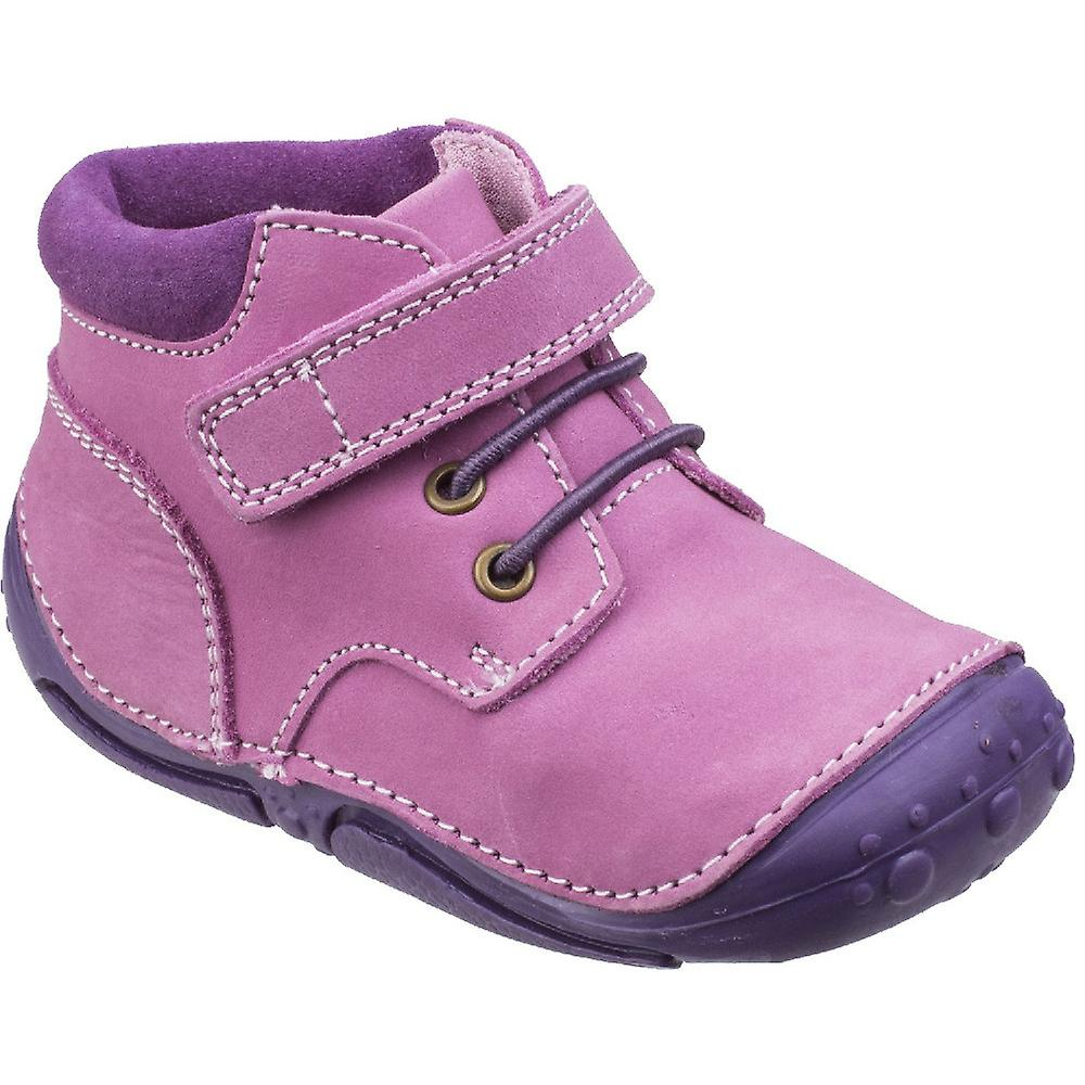 Hush Puppies Girls Lily Toddler Soft Leather Leather Leather Padded Pre-Walkers Shoes c3860f