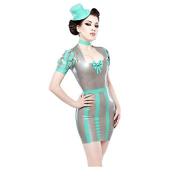 Westward Bound Adrena-Fatale Latex Rubber Dress.