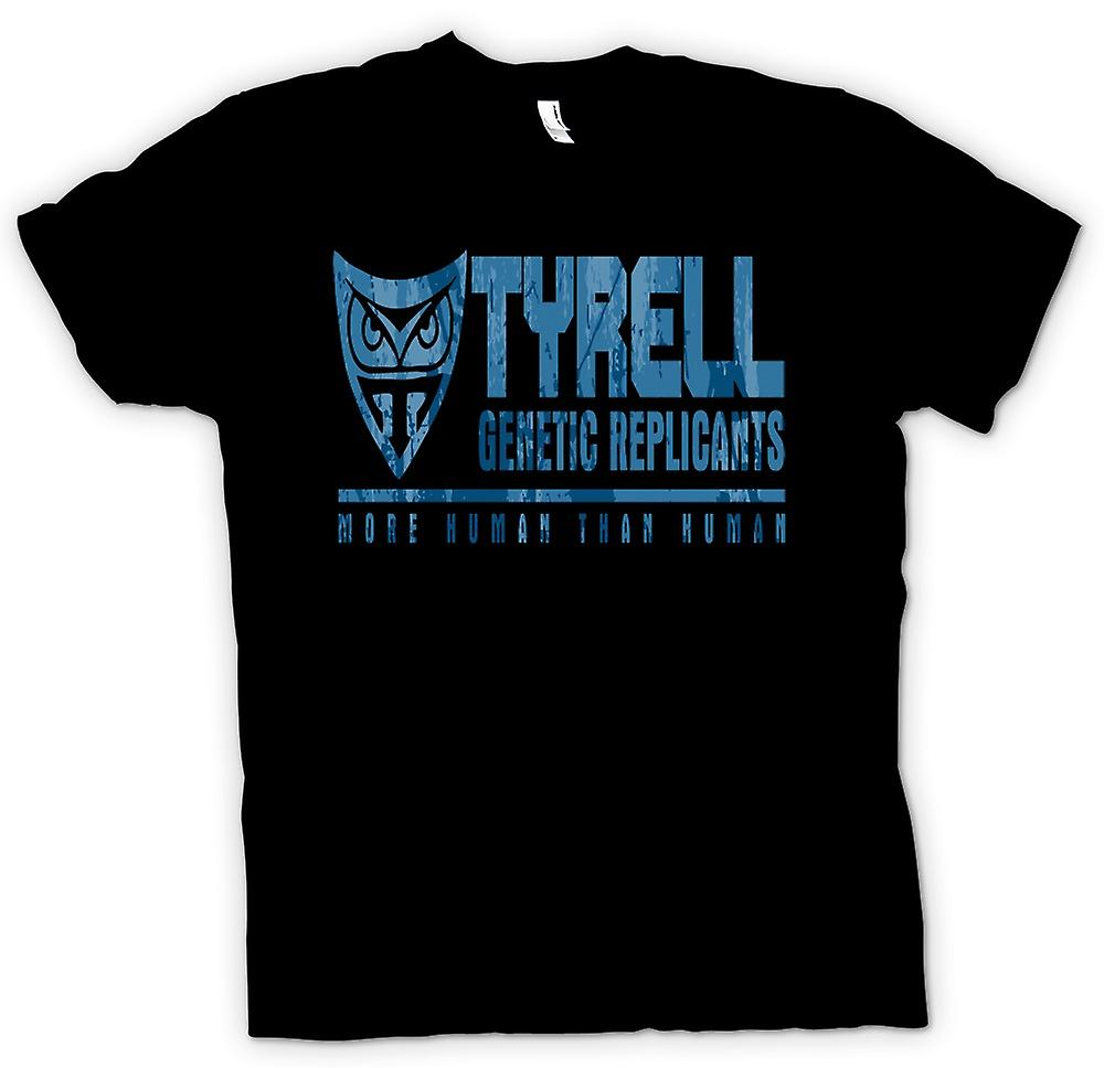 Mens T-shirt - Tyrell Genetic Replicants - More Human Than Human
