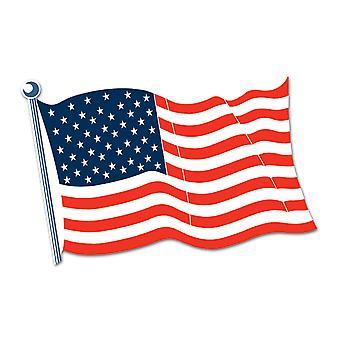 Amerikanska flaggan Cutout 18