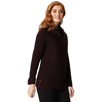 Regatta Womens/Ladies Quenby Polyester Cowl Neck Fleece Jacket Top