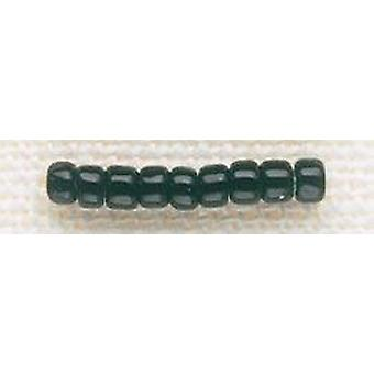 Mill Hill Glass Beads Size 8/0 3mm 6g-Black