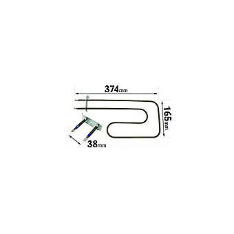 Belling 1330W halv Grill Element