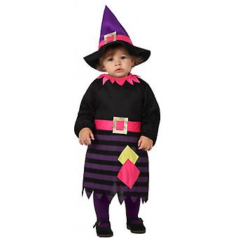 Børns kostumer heks kostume til baby pige