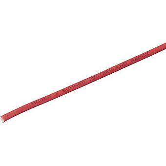 Huber & Suhner 12560291 Strand Radox® 155 1 x 10 mm² Red Sold by the metre