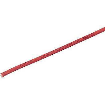 HUBER & SUHNER 12560284 Strand RADOX® 155 1 x 6 mm ² rot Meterware