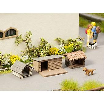 NOCH Laser-Cut minis® 0014364 H0 Dog houses