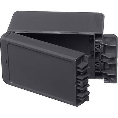 Bopla Bocube B 140809 PC-V0-G-7024 Wall-mount enclosure, Build-in casing 90 x 151 x 80 Polycarbonate (PC) Graphite grey (RAL 7024) 1 pc(s)